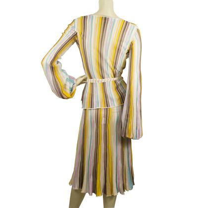 Missoni Multicolor Zig Zag in maglia a righe Set