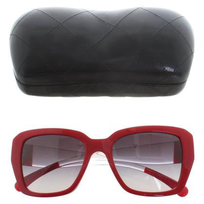 Chanel Occhiali da sole in rosso