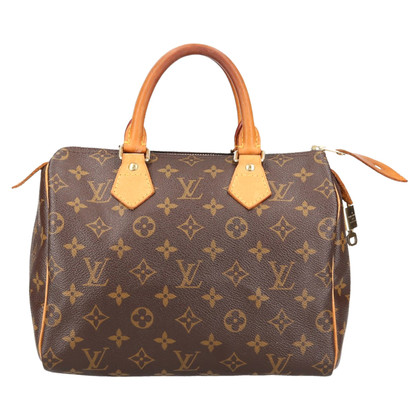 louis vuitton speedy 25 monogram canvas second hand louis vuitton speedy 25 monogram canvas. Black Bedroom Furniture Sets. Home Design Ideas