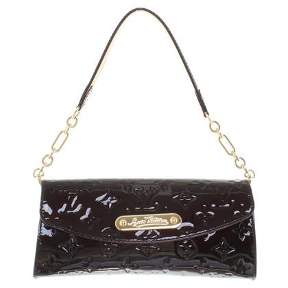 Louis Vuitton clutch patent leather