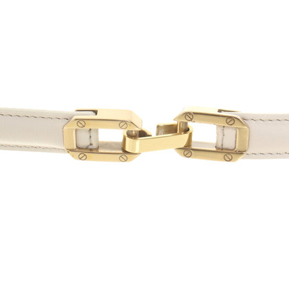 Chloé Belt in white