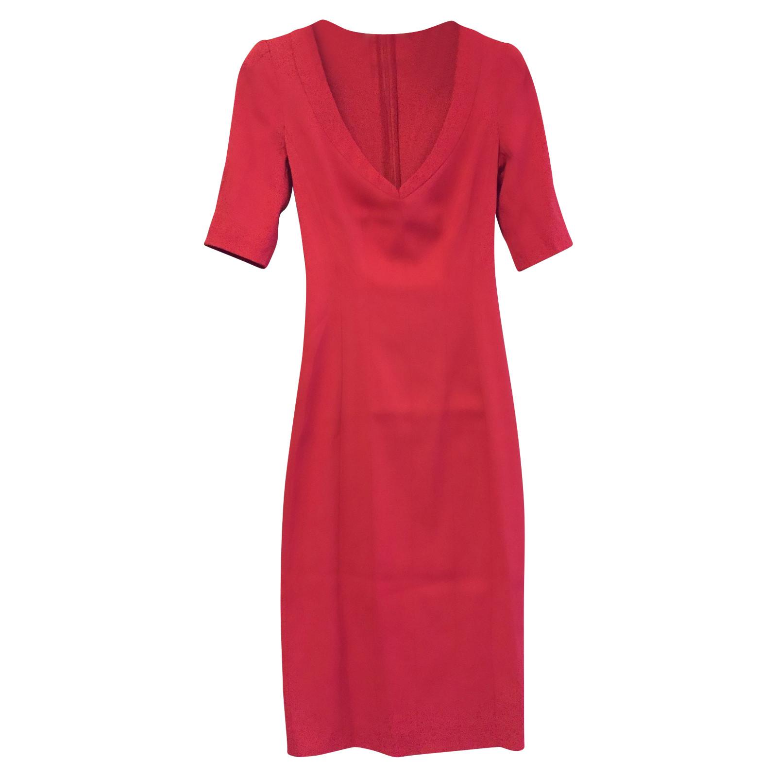 Armani Rotes Kleid - Second Hand Armani Rotes Kleid gebraucht