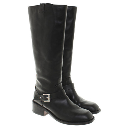 Rag & Bone Boots in black leather