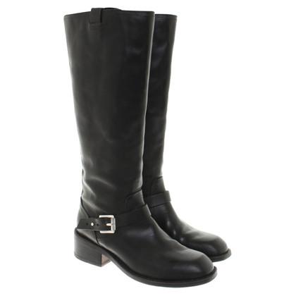 Rag & Bone Stiefel aus schwarzem Leder