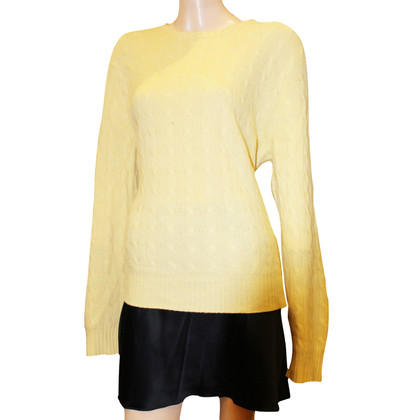 Ralph Lauren Sweater yellow 100% cashmere