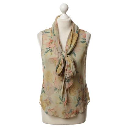 Ralph Lauren Knop blouse zijde