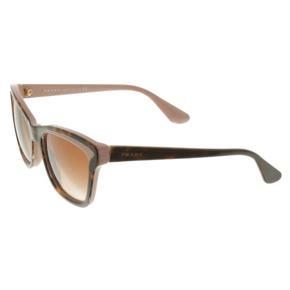 Prada Sunglasses in brown / nude