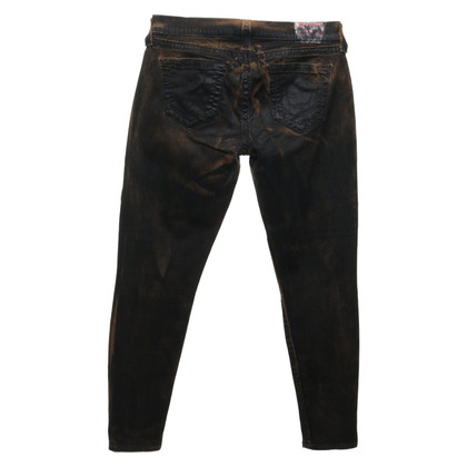 True Religion trousers in used look