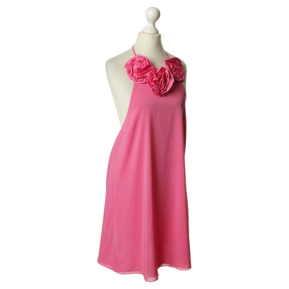 Alice + Olivia Neckholder-Kleid in Rosa