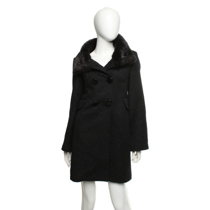 French Connection Cappotto nero
