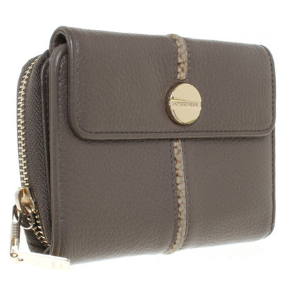 Borbonese Leather wallet in brown