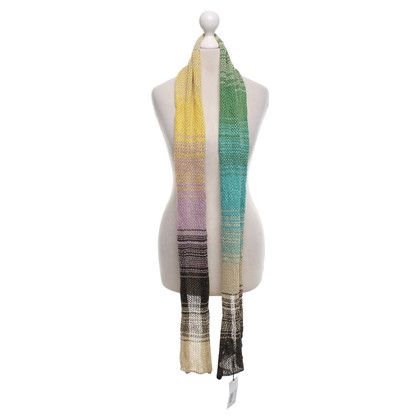 Missoni Knit scarf with pattern