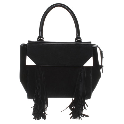 Barbara Bui Suede handbag in black