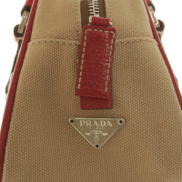 Prada Handbag with leather elements