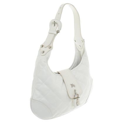 Burberry Shoulder Bag in bianco