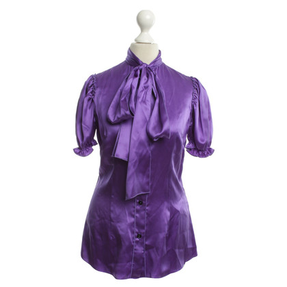 D&G Bluse in Violett
