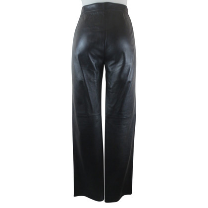 Armani Collezioni Leather pants