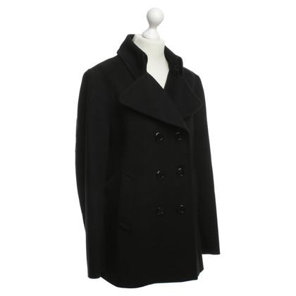 Burberry Cappotto corto in nero