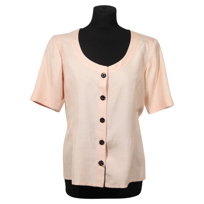 Yves Saint Laurent Blouse Short Sleeve