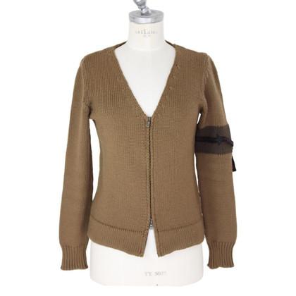 Prada Cardigan maglione marrone donna Prada
