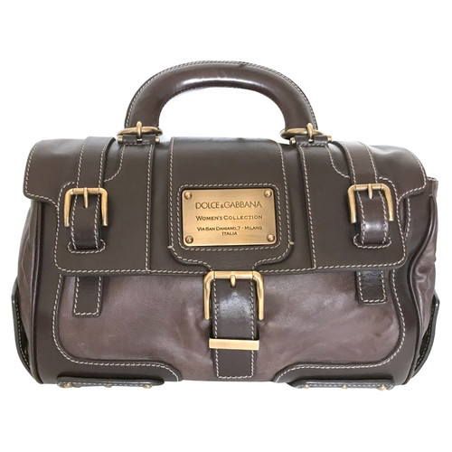 Dolce & Gabbana Handtasche in Braun Braun