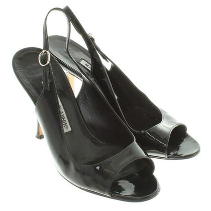 Manolo Blahnik Sandals in black
