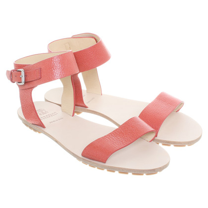 Brunello Cucinelli Sandals in red