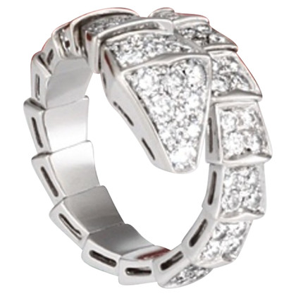Bulgari Bulgari ring met diamanten