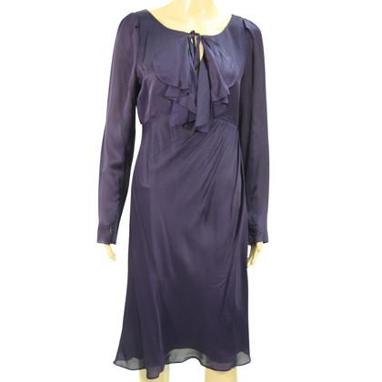 L.K. Bennett Robe en soie en violet