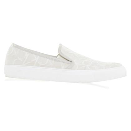 Calvin Klein Slipper in cream white
