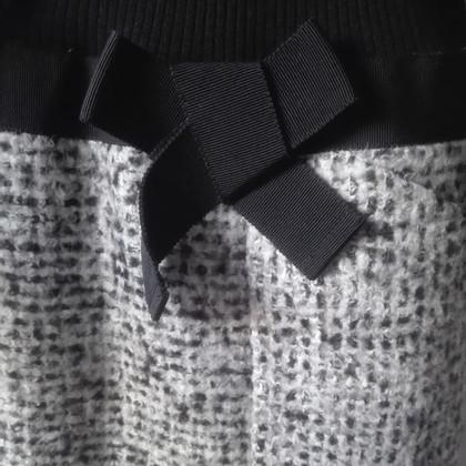 Paule Ka Zwarte gebreide jurk