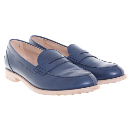 Tod's Loafer in Blau