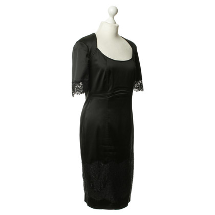 Basler Dress with lace trim
