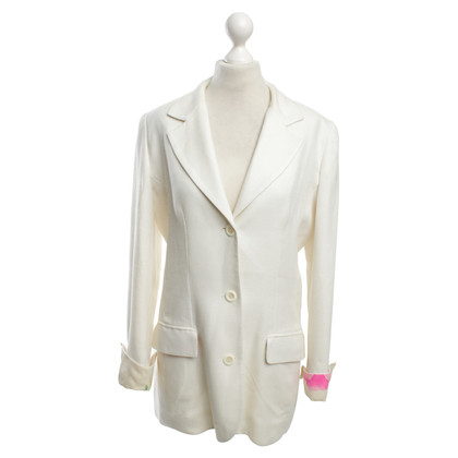 Leonard Blazer in cream