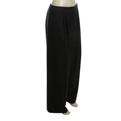 Jil Sander Wool trousers in dark blue
