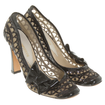 Armani pumps con paillettes