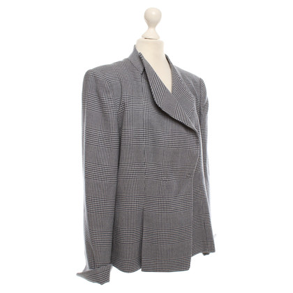 Armani Jeans Blazer with Vichy pattern