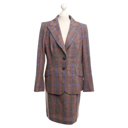 Escada Costume blazer en rok in plaid