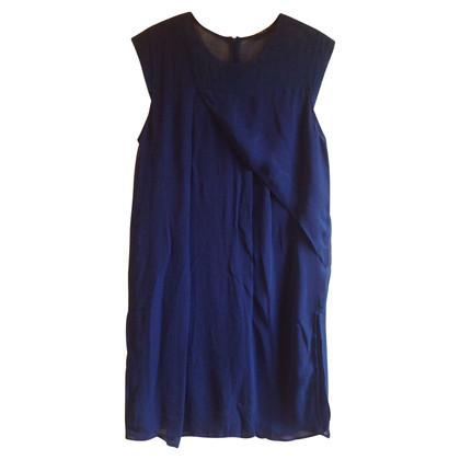 Set Kleid mit Netz-Einsatz
