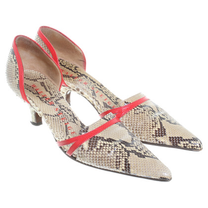 Walter Steiger Sandals in Snake leather