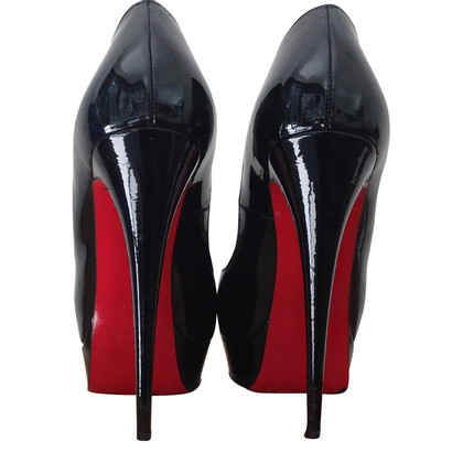 Christian Louboutin Peep-toes in patent leather
