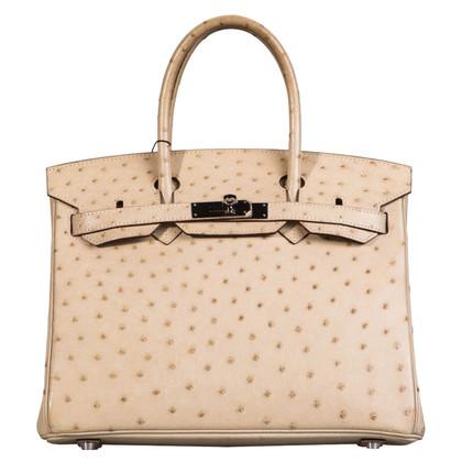 """Hermès """"Birkin Bag 30"""" dalla pelle di struzzo"""