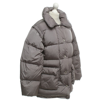 Jil Sander Oversized down jacket in grey