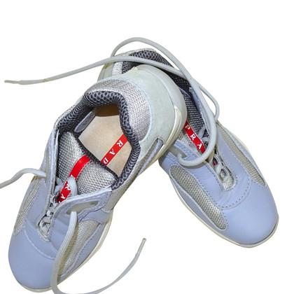 Prada sneakers in pelle