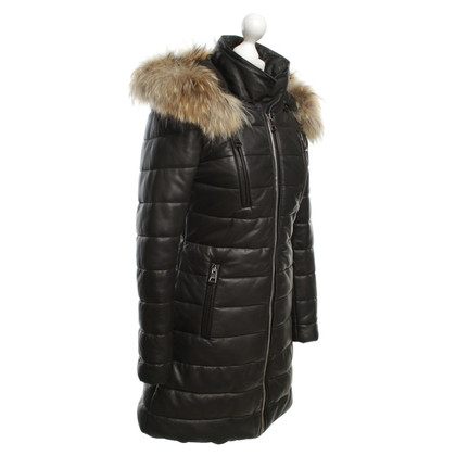 Other Designer Rizal leather down coat