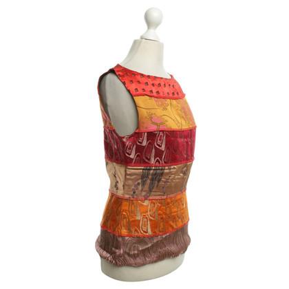 Jean Paul Gaultier Oberteil mit Muster