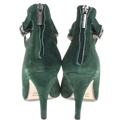 The Seller Suede pumps in green