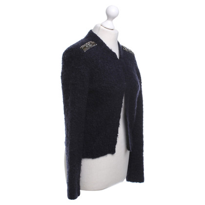 Schumacher Cardigan in blu scuro