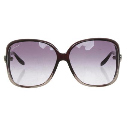 Gucci Sonnenbrille in Schwarz
