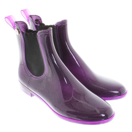 Missoni Rubber boots in violet